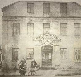 Hauptgebäude um 1900