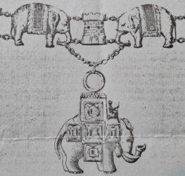 Dieses Wappen ziert auch heute noch die Eingangstür